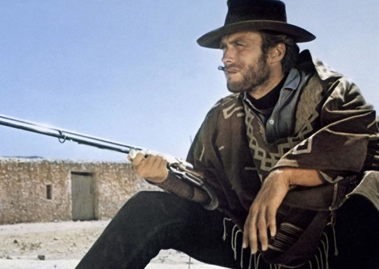 """Clint Eastwood in """"For a Few Dollars More"""""""