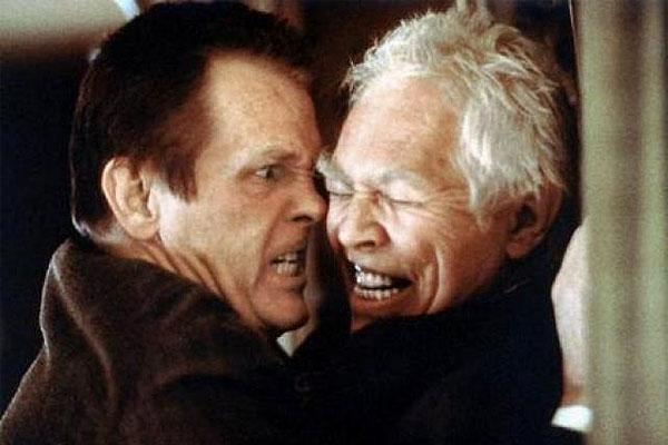 "Nick Nolte and James Coburn in ""Affliction"""