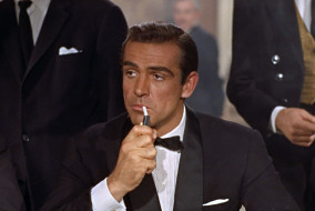 "Sean Connery in ""Dr. No"""