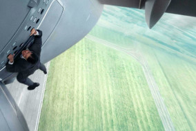"Tom Cruise in ""Mission: Impossible - Rogue Nation"""