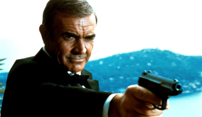"Sean Connery in ""Never Say Never Again"""