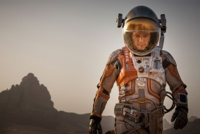 "Matt Damon in ""The Martian"""