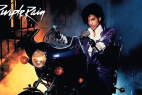 "Prince in ""Purple Rain"""