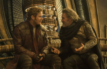 "Chris Pratt and Kurt Russell in ""Guardians of the Galaxy Vol. 2"""