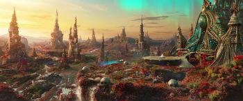 "Ego's Planet in ""Guardians of the Galaxy Vol. 2"""