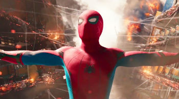 "Tom Holland in ""Spider-Man: Homecoming"""