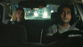 "Emily V. Gordon and Kumail Nanjiani in ""The Big Sick"""