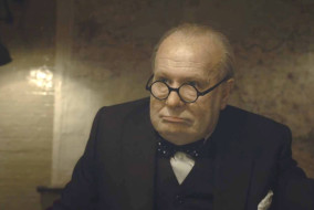 "Gary Oldman in ""The Darkest Hour"""