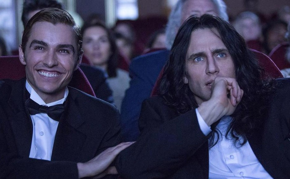 "Dave Franco and James Franco in ""The Disaster Artist"""